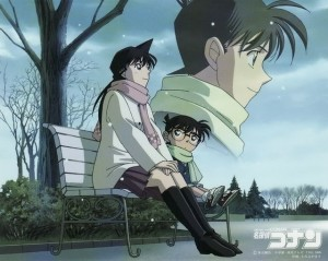 Ran and Shinichi (conan)