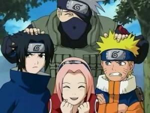 naruto and team