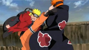 naruto vs pein